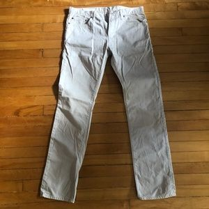 Men's Gap Slim Fit Cream Pants
